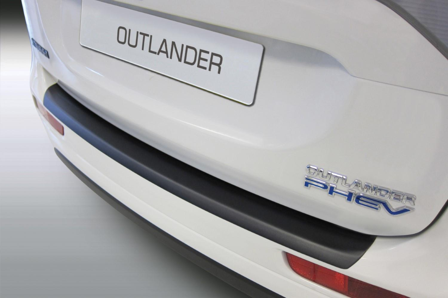 Mitsubishi Outlander III 2012-2015 rear bumper protector ABS (MIT6OUBP)
