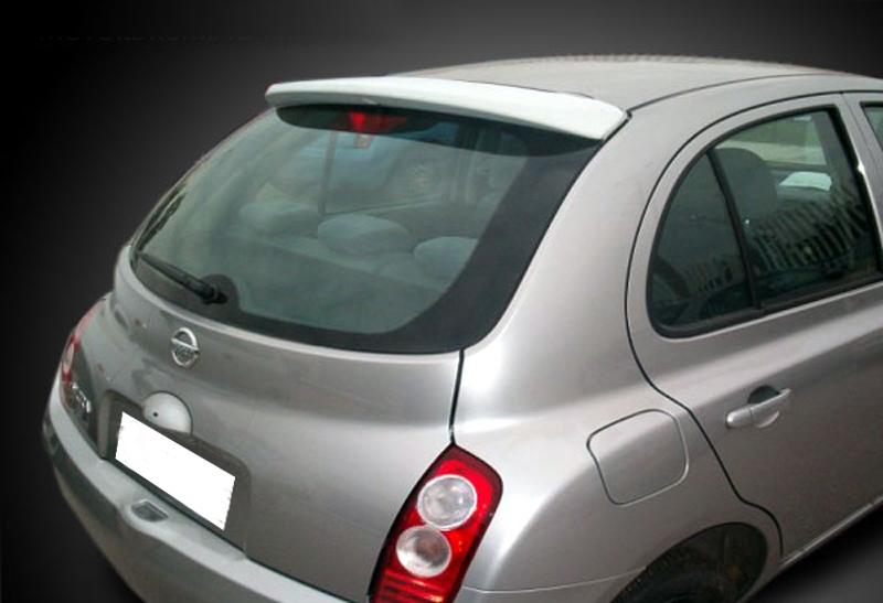 Nissan Garage Waalwijk : Nissan micra k roof spoiler car parts expert