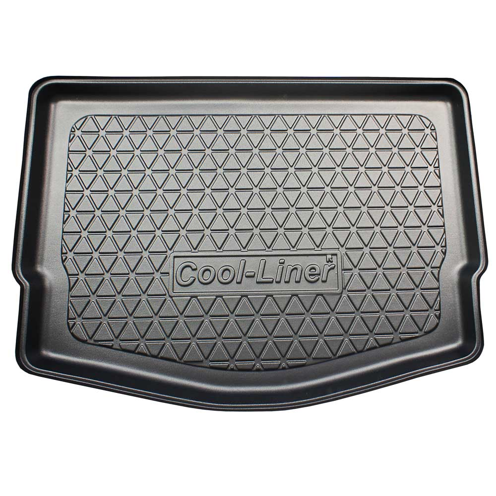 Boot mat Nissan Note (E12) 2013-present 5-door hatchback Cool Liner anti slip PE/TPE rubber