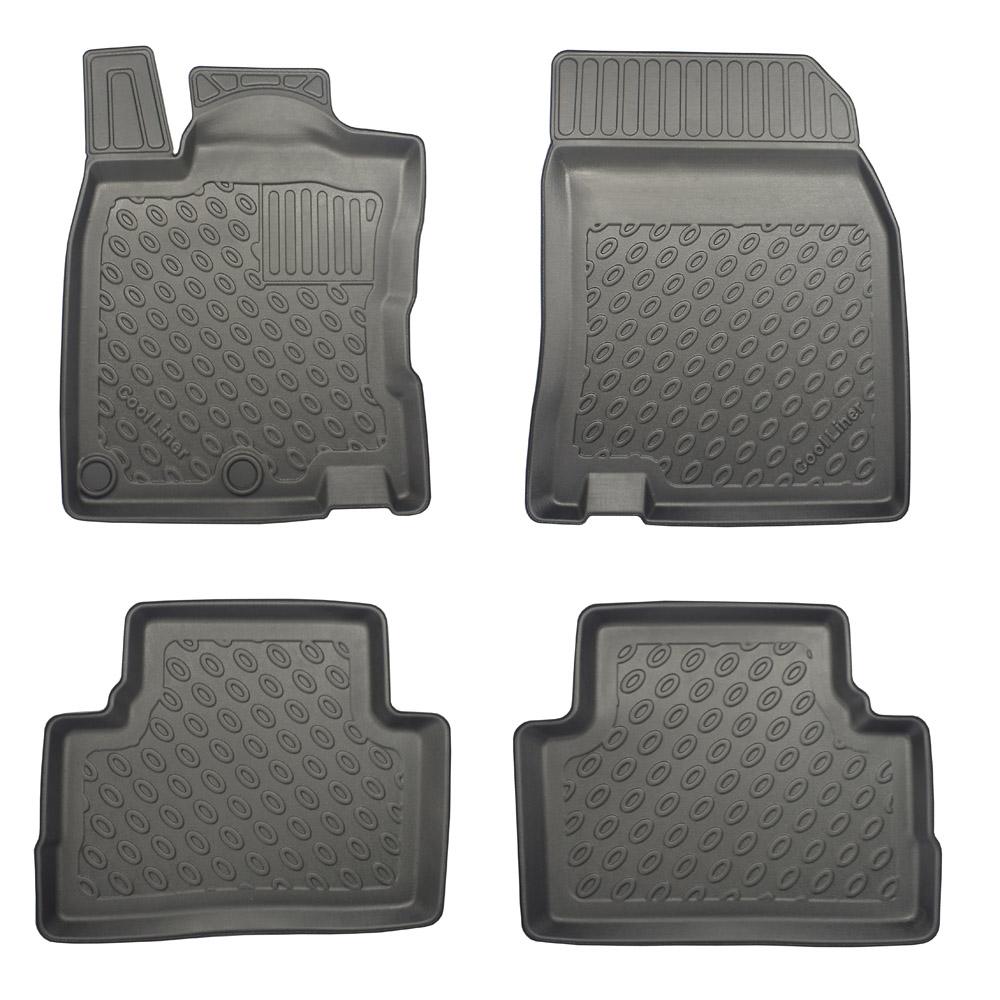 Floor mats nissan qashqai - Nissan Qashqai J11 2013 Suv Foot Mat Set Pe Tpe Rubber