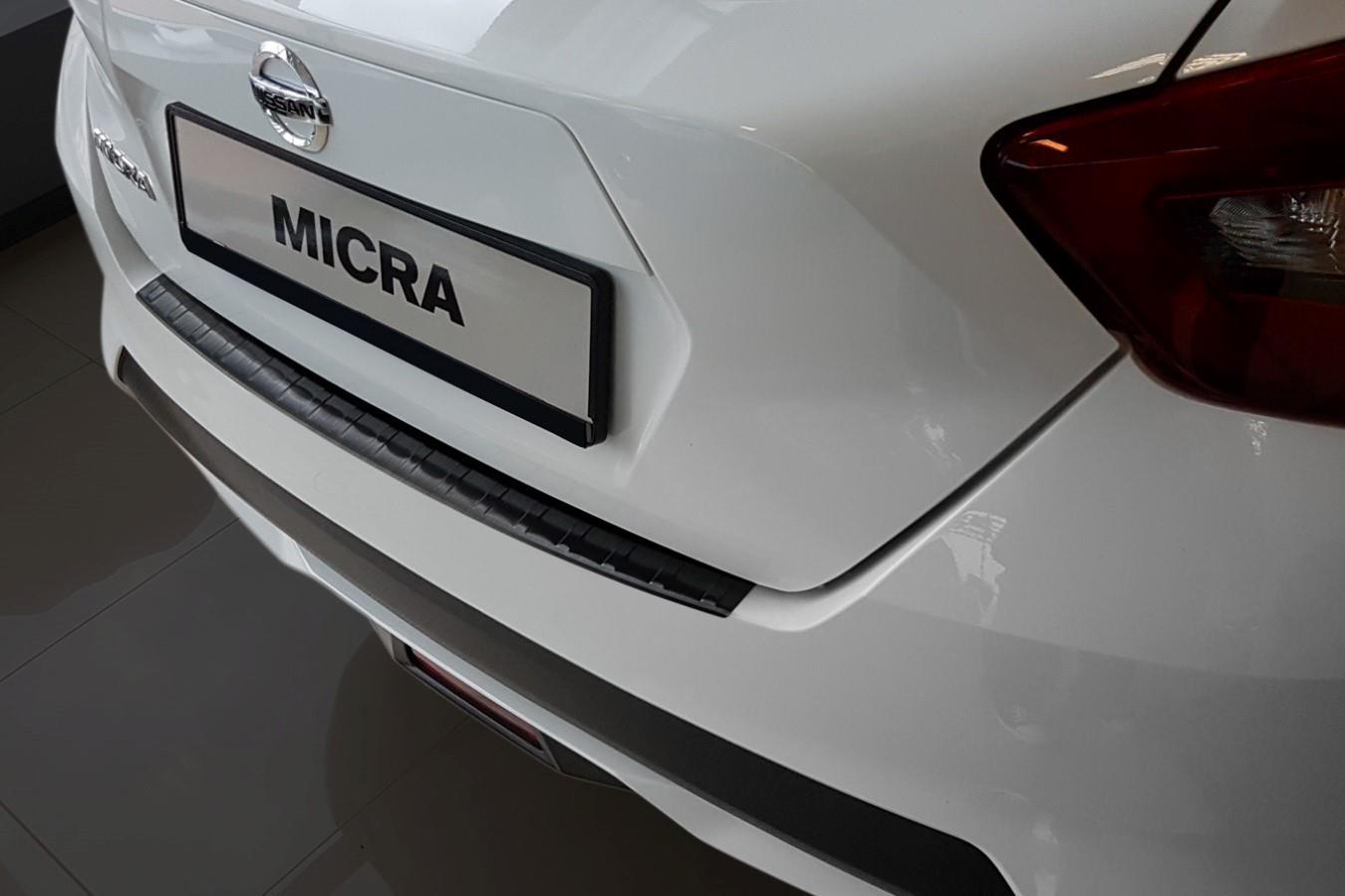 Nissan Garage Waalwijk : Nissan micra k bumper protector v a black car parts expert
