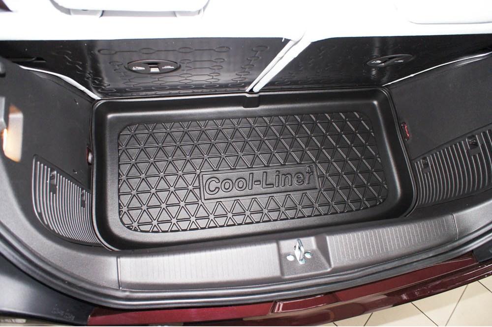 OPEL ADAM 2013-heute Kofferraumwanne /& Gummi-Fußmatten