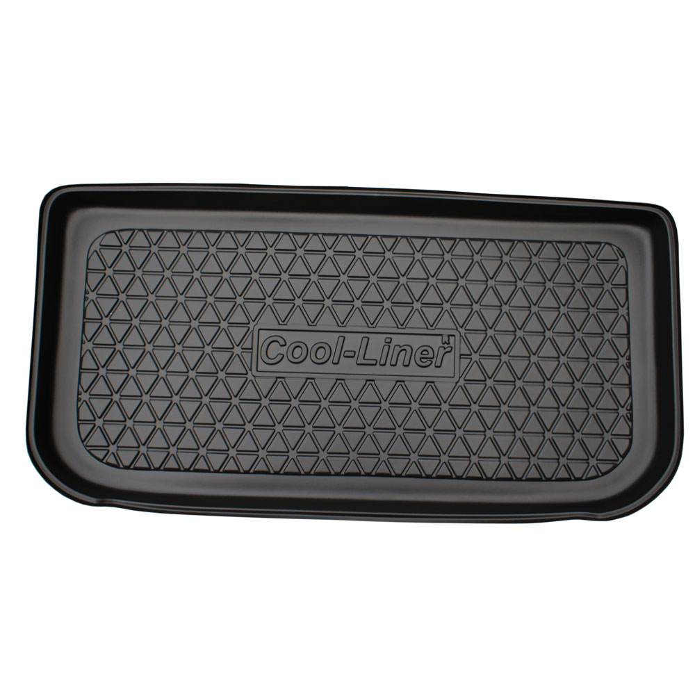 Boot mat Opel Agila A 2000-2007 5-door hatchback Cool Liner anti slip PE/TPE rubber