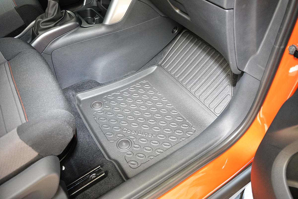 Custom Carpet Boot Mat to fit Vauxhall Crossland X 2017-present