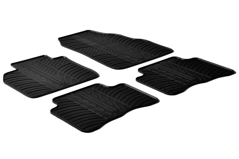 Gummi-Fußmatten+Kofferraumwanne OPEL MOKKA 2012-heute