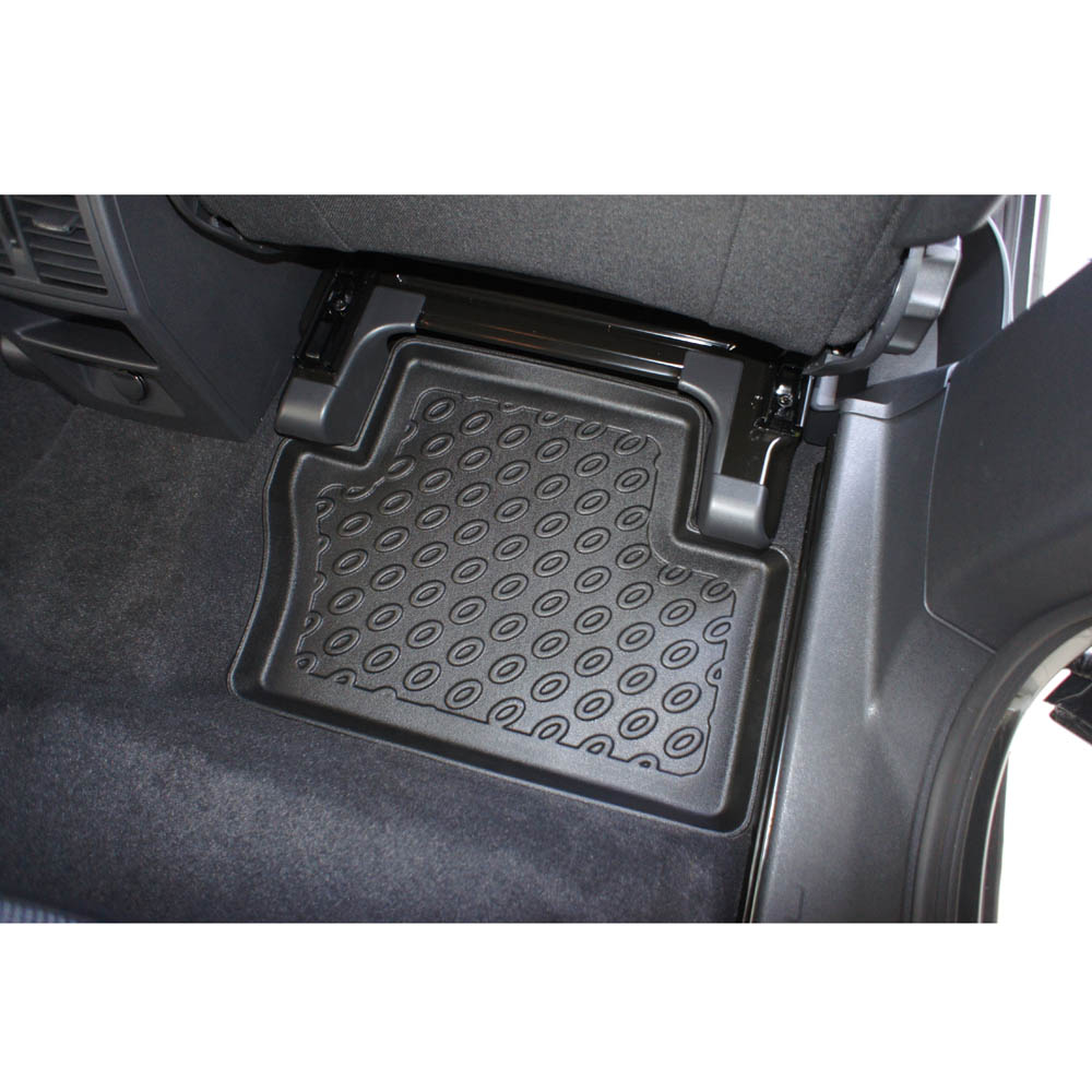 Vauxhall zafira rubber floor mats -  Without