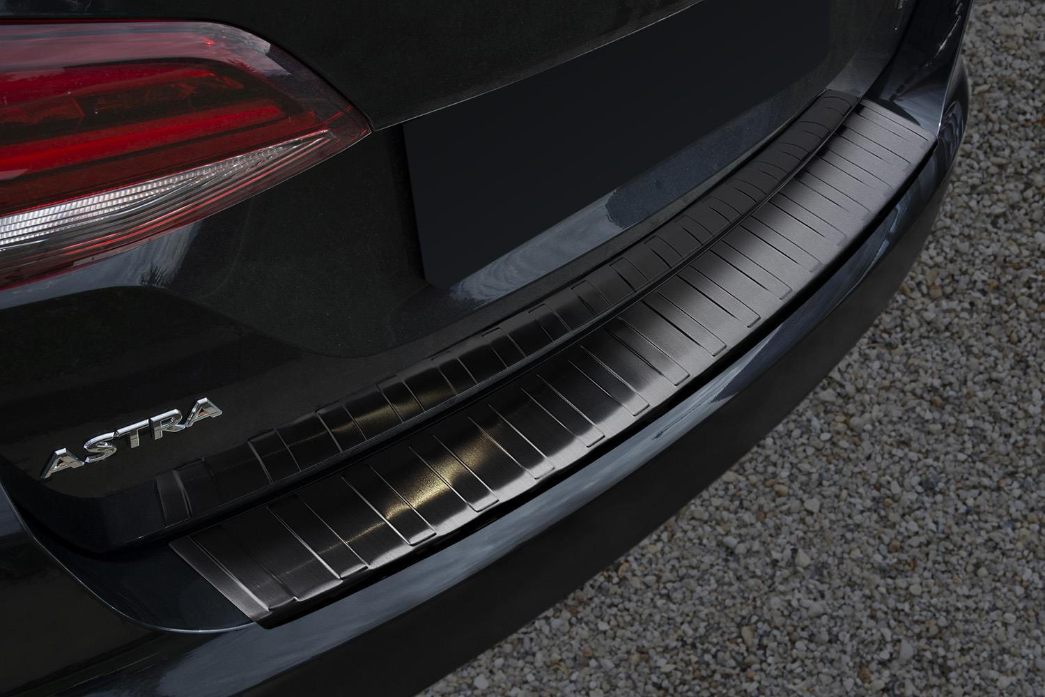 Opel Astra K Sports Tourer Bumper Protector V2a Anthracite