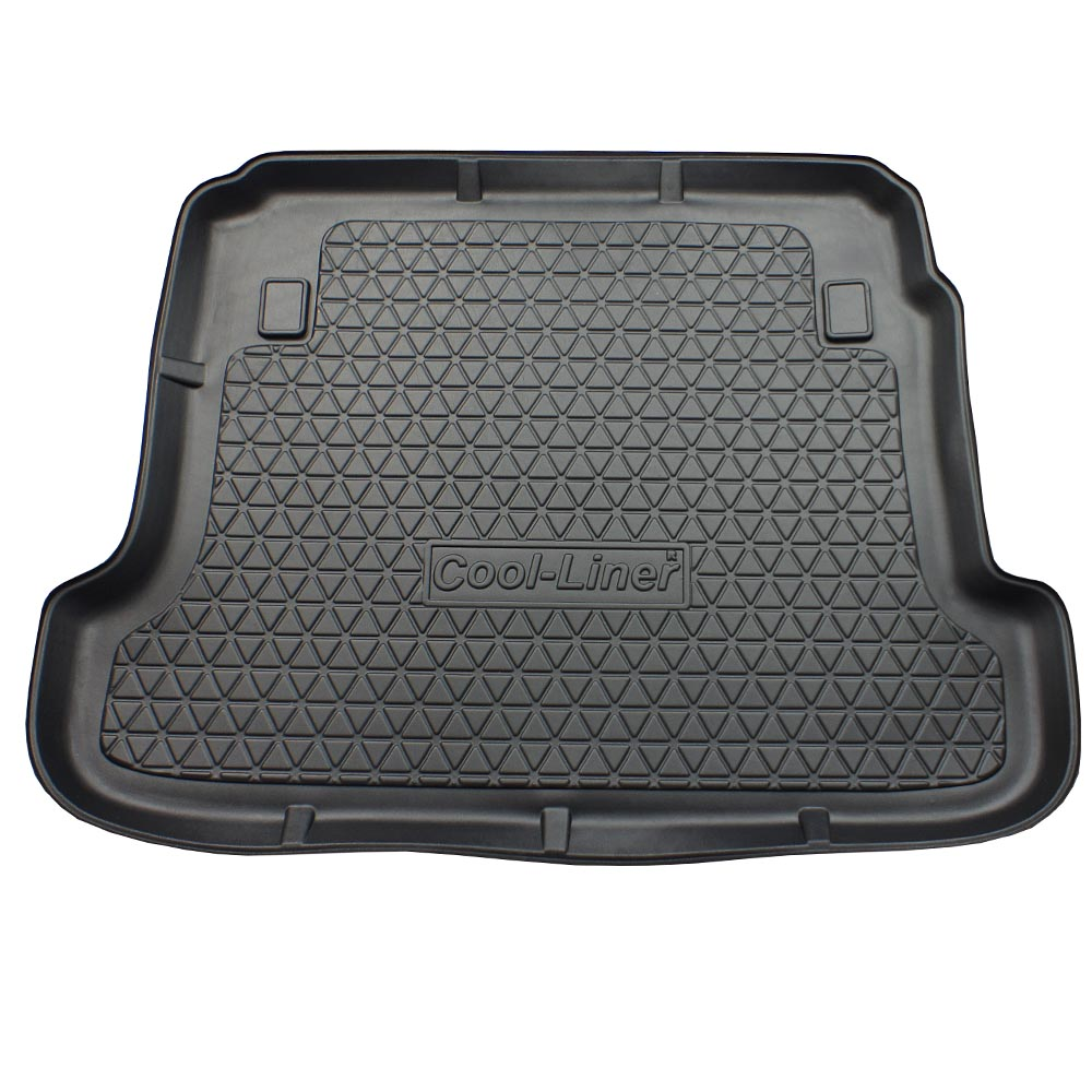 Boot mat Renault Fluence 2009-2016 4-door saloon Cool Liner anti slip PE/TPE rubber