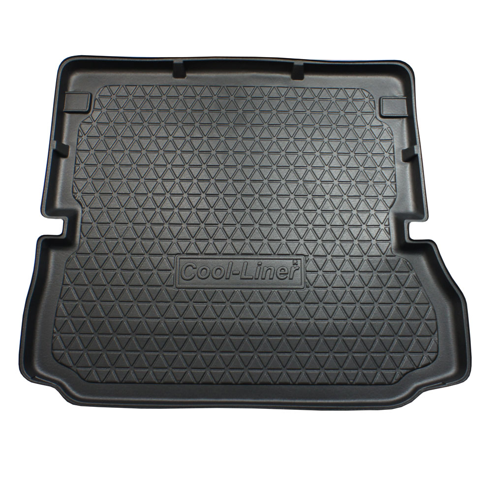 Boot mat Renault Grand Scénic III 2009-2016 Cool Liner anti slip PE/TPE rubber