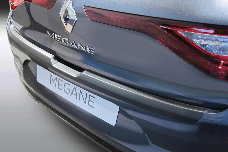 Renault Mégane IV 2016-present 5-door hatchback rear bumper protector ABS -  matt black