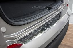 Hyundai Tucson (TL) 2015-> rear bumper protector stainless steel