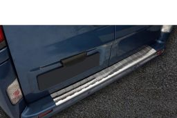 Renault Trafic II 2006-2014 rear bumper protector stainless steel
