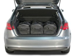 Audi A3 Sportback (8V) E-Tron 2014-present 5d Car-Bags travel bag set