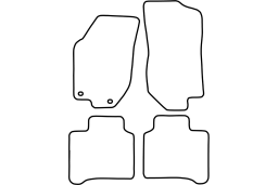 Alfa Romeo 146 1994-2001 5d car mat set (ALF146MV)