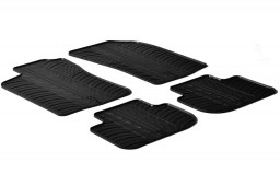 Alfa Romeo 147 2000-2010 3 & 5-door hatchback car mats set anti-slip Rubbasol rubber (ALF147FR)