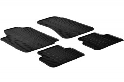 Alfa Romeo 159 2005-2011 4-door & wagon car mats set anti-slip Rubbasol rubber (ALF159FR)