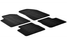 Alfa Romeo Giulietta 2010-2014 5-door hatchback car mats set anti-slip Rubbasol rubber (ALF1GIFR)