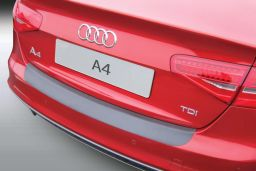 Audi A4 (B8) 2012-2015 4-door saloon rear bumper protector ABS (AUD10A4BP)