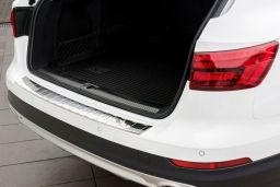 Audi A4 Avant Allroad (B9) 2016-> rear bumper protector stainless steel (AUD15A4BP) (2)