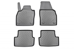 Audi A1 Sportback (GB) 2018-present 5-door hatchback Cool Liner car mat set PE/TPE rubber (AUD1A1FM) (1)