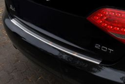 Audi A4 (B8) 2008-2012 4-door saloon rear bumper protector stainless steel (AUD1A4BP) (1)