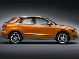 Audi Q3 '12- side protection set