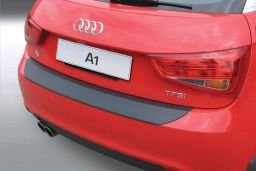 Audi A1 (8X) 2010-2015 3 & 5-door hatchback rear bumper protector ABS (AUD2A1BP)