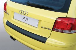 Audi A3 (8P) 2003-2008 3-door hatchback rear bumper protector ABS (AUD2A3BP)