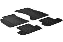 Audi A5 Coupé (8T3) 2008-2016 car mats set anti-slip Rubbasol rubber (AUD2A5FR)