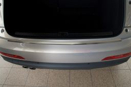 Audi Q3 (8U) 2011-> rear bumper protector stainless steel (AUD2Q3BP) (2)