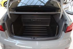 Boot liner Audi A3 Limousine (8V) 2012-present 4-door saloon Carbox Classic YourSize 92 high wall (AUD6A3CC)