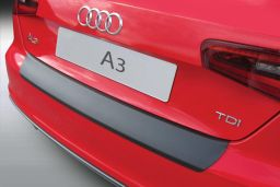 Audi A3 (8V) 2012-> 3-door hatchback rear bumper protector ABS (AUD7A3BP)
