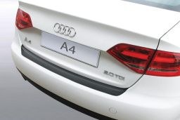 Audi A4 (B8) 2008-2012 4-door saloon rear bumper protector ABS (AUD8A4BP)