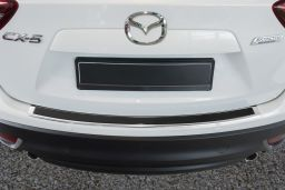 Example rear bumper protector stainless steel high gloss + Carbon black (AVBP) (1)