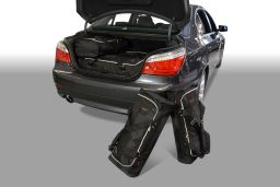 BMW 5 series (E60) 2004-2010 4d Car-Bags set