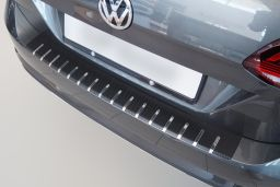 Example rear bumper protector double layer stainless steel + carbon foil (BA) (1)