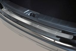 Example rear bumper protector stainless steel T-profile flat (BA)