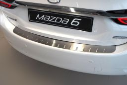 Example rear bumper protector stainless steel flat (BA)