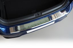 Example rear bumper protector stainless steel high gloss (BA)