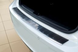 BMW 1 Series (F21 - F20) 2011-> 5-door hatchback rear bumper protector stainless steel (BMW11SBP) (1)