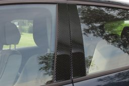 BMW 1 Series (F20) 2011-present 5-door hatchback B-pillar cover set carbon 4 pcs (BMW11SM)