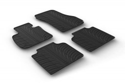 BMW 2 Series Gran Tourer (F46) 2015-present car mats set anti-slip Rubbasol rubber (BMW12GFR)