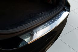 BMW 3 Series Touring (E91) 2005-2012 rear bumper protector stainless steel (BMW13SBP) (3)