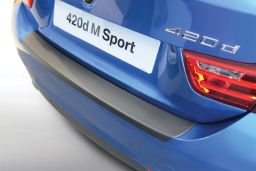 BMW 4 Series Coupé (F32) 2013-> rear bumper protector ABS (BMW14SBP)