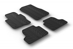 BMW 4 Series Coupé (F32) 2013-present car mats set anti-slip Rubbasol rubber (BMW14SFR)