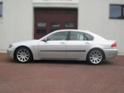 BMW 7 Series Limousine '02-'08 side protection set