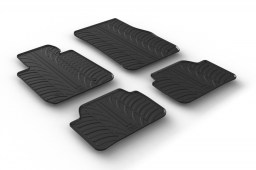 BMW 1 Series (F21 - F20) 2011-present 3 & 5-door hatchback car mats set anti-slip Rubbasol rubber (BMW21SFR)