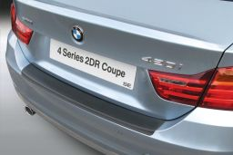 BMW 4 Series Coupé (F32) 2013-> rear bumper protector ABS (BMW24SBP)
