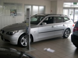 BMW 5 Series '04-'10 side protection set_product