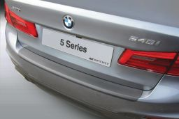 BMW 5 Series (G30) 2017-present 4-door saloon rear bumper protector ABS (BMW285SBP)